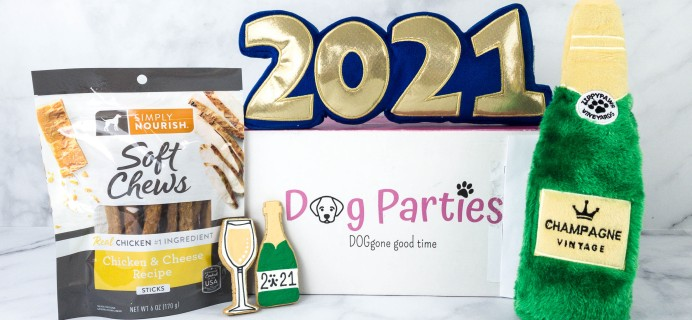 Dog Parties Subscription Box Review –  January 2021
