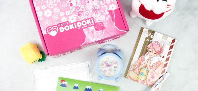 Doki Doki January 2021 Subscription Box Review & Coupon