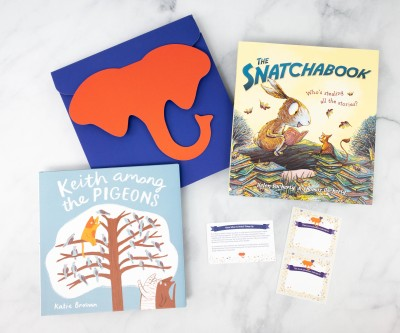 Elephant Books Subscription Box Review + Coupon – January 2021