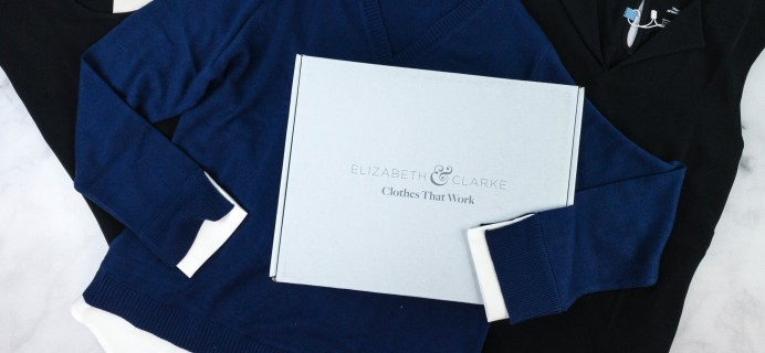 Elizabeth & Clarke Winter 2020 Subscription Box Review + Coupon