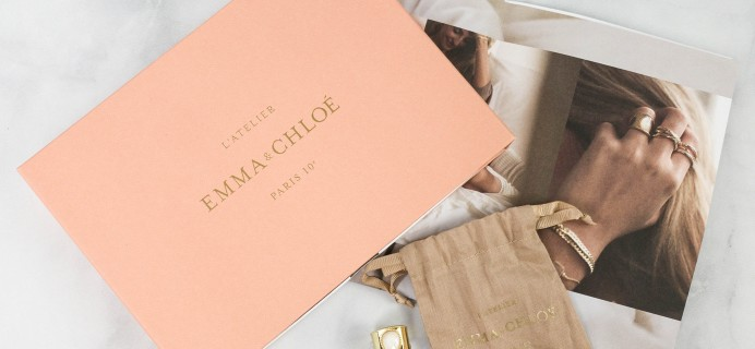 Emma & Chloe January 2021 Jewelry Subscription Box Review + Coupon