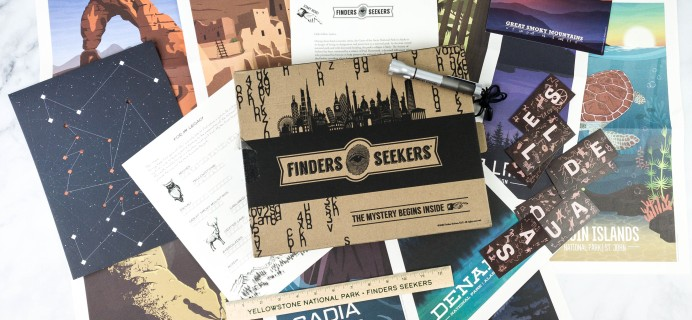 Finders Seekers Subscription Box Review + Coupon – ALASKA