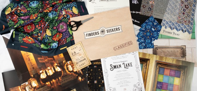 Finders Seekers Subscription Box Review + Coupon – RUSSIA