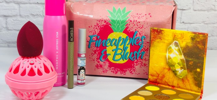 Fineapples and Blush Box Review – December 2020