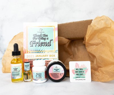 Fortune Cookie Soap FCS of the Month January 2021 Box Review