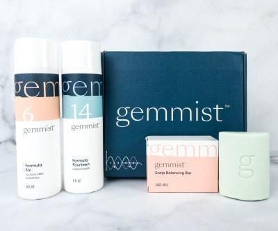 Gemmist Shampoo & Conditioner Set + Scalp Balancing Bar Review