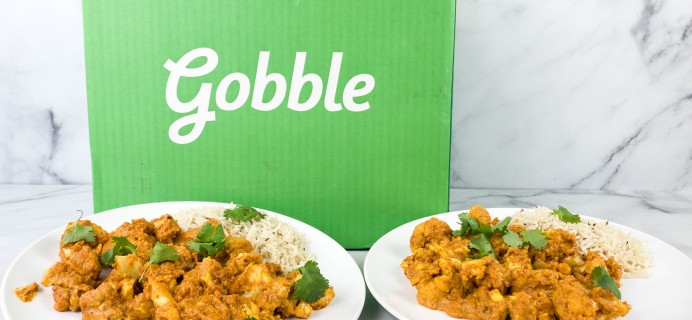 Gobble Meal Kit Subscription Review + 50% Off Coupon!