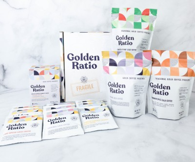 Golden Ratio Coffee Subscription Box Review + Coupon