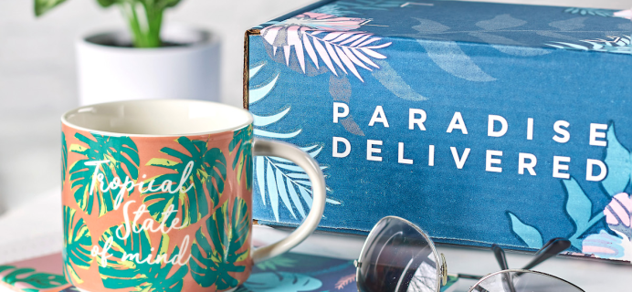 Paradise Delivered Valentine's Day Deal: Get 50% Off First Box!