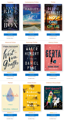 Amazon First Reads January 2021 Selections: 1 Book FREE for Amazon Prime Members