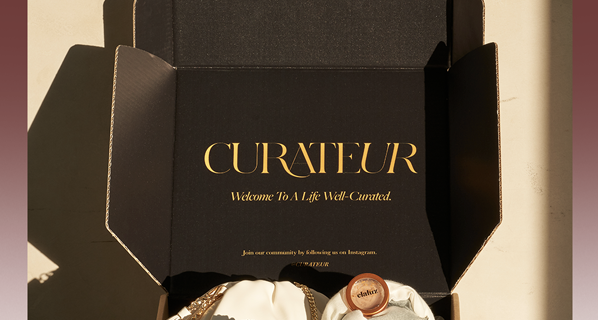 CURATEUR Deal:  $40 off First Box!