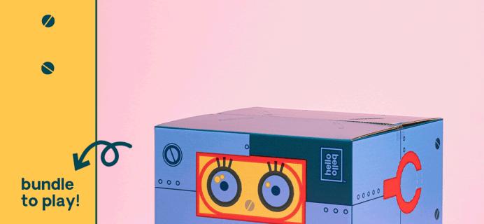 Hello Bello Limited Edition Bello-Bot Bundle Box + Coupon!