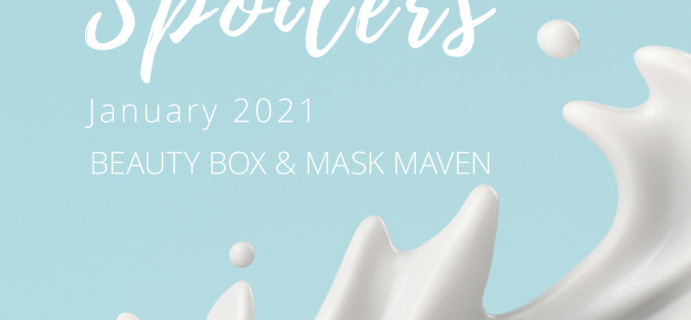Beauteque Beauty Box & Mask Maven January 2021 Spoilers + Coupon!
