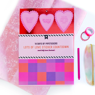 2021 Pipsticks Valentine's Day Advent Calendar Available Now!