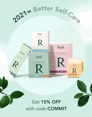 Rael New Year Sale: Get Up To 20% Off Holistic Feminine Self-Care!