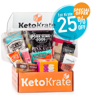 KetoKrate Coupon: Start Your Subscription With The November 2020 Box + Get 25% Off!
