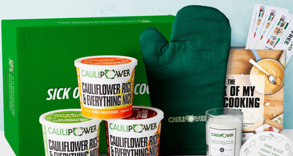CAULIPOWER Sick Of My Own Cooking Box Available Now!
