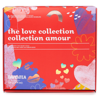 David's Tea Love Collection Limited Edition Tea Box Available Now!