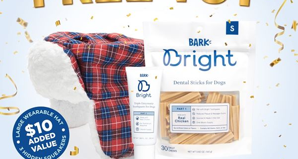 Bark Bright Coupon:  Free Tin with Subscription!