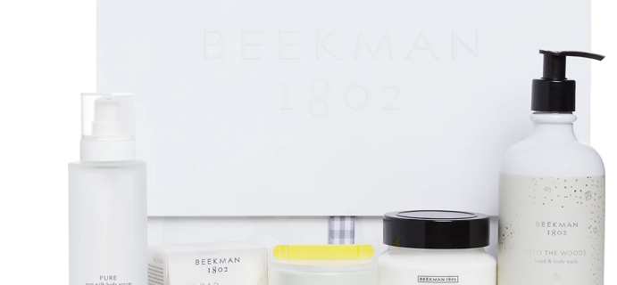 B. 1802 Beekman Beauty Box Spring 2021 Available Now + Full Spoilers!
