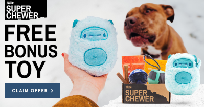 BarkBox Super Chewer Coupon: Get FREE Ice Beast Toy with Ski Themed Box!