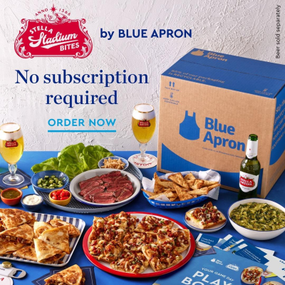 Blue Apron Stella Stadium Bites Preorders Open Now + $60 Off Coupon!