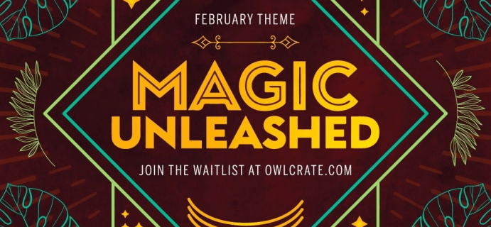 OwlCrate February 2021 Theme Spoilers & Coupon!