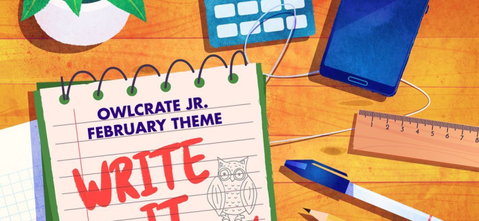 OwlCrate Jr. February 2021 Theme Spoilers + Coupon!