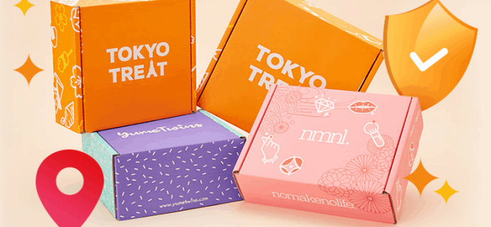 TokyoTreat + YumeTwins + nmnl Shipping Updates + Coupon!