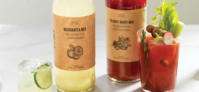Public Goods Margarita & Bloody Mary Drink Mix Available Now + Coupon!