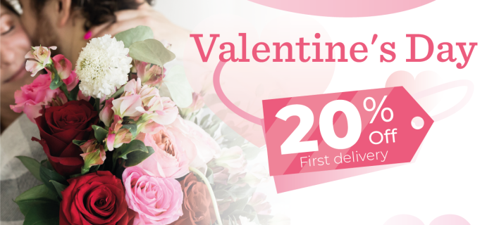 Enjoy Flowers Valentine's Day Coupon: Get 20% Off!