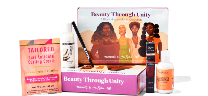 Walmart Limited Edition Beauty Through Unity Beauty Box Available Now + Full Spoilers!