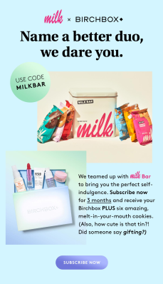 Birchbox Coupon: FREE Milk Bar Cookies Set With Subscription!