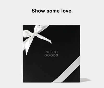 Public Goods Chocolate Gift Box Available Now + Coupon!
