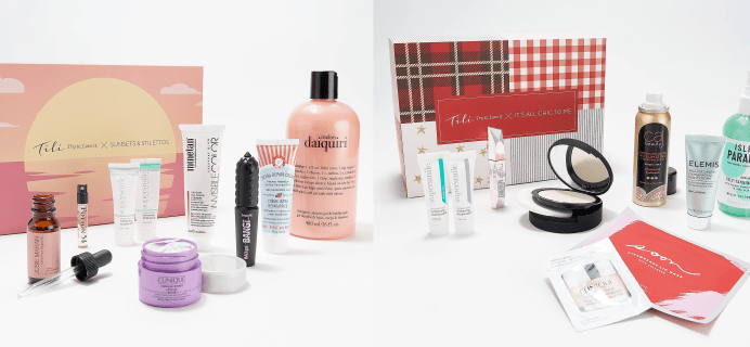 Two New QVC TILI Boxes Available Now!