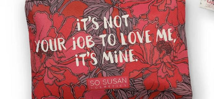 So Susan Color Curate February 2021 Full Spoilers!