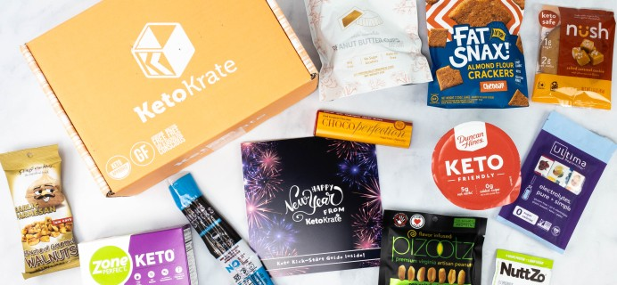 KetoKrate January 2021 Subscription Box Review + Coupon
