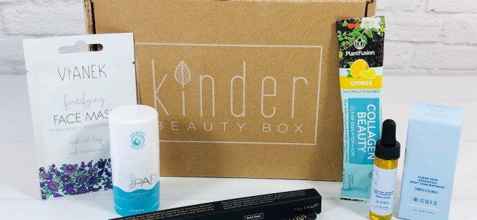 Kinder Beauty Box January 2021 Review + Coupon – TLC2021