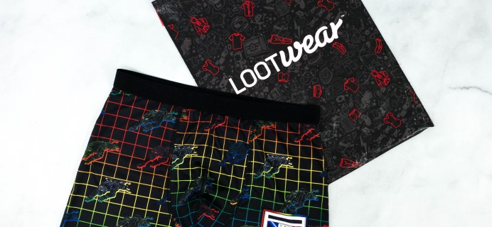 Loot Undies August 2020 Subscription Review + Coupon