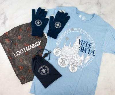 Loot Wear Wizarding World Wear Review – December 2020