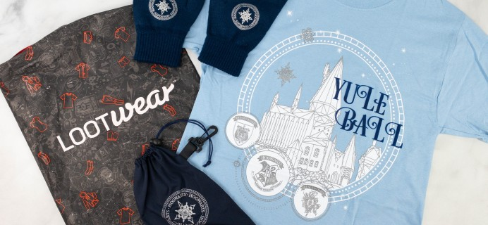 Loot Wear Wizarding World Wear Review – December 2020