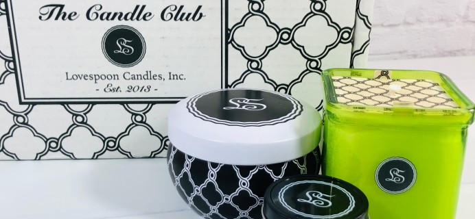 Lovespoon Candles Subscription Box Review + Coupon – January 2021