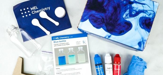 MEL Chemistry Lite Review – BLUE BOTTLE