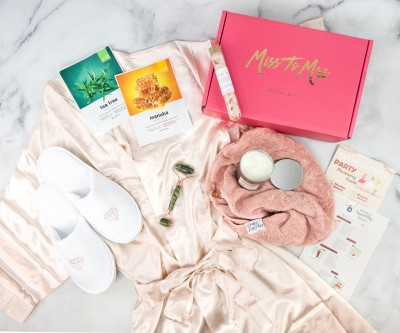 Miss To Mrs Bridal Box January 2021 Review + Coupon