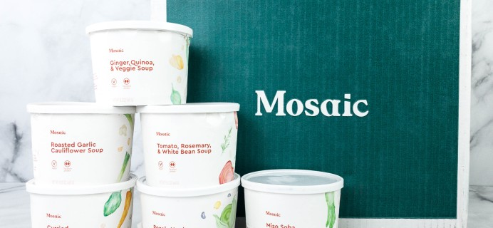 Mosaic Foods Plant-Based Meals Review + Coupon – Soup Bowls!