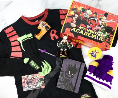 My Hero Academia Winter 2020 Subscription Box Review