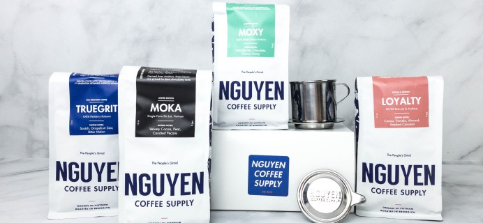Nguyen Coffee Subscription Box Review + Coupon