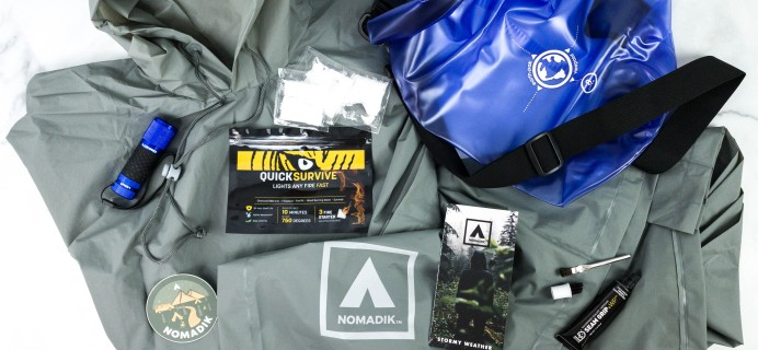 Nomadik February 2021 Subscription Box Review + Coupon