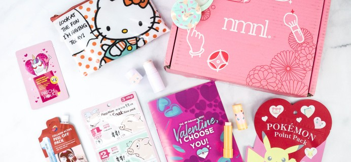 nmnl (nomakenolife) February 2021 Subscription Box Review + Coupon