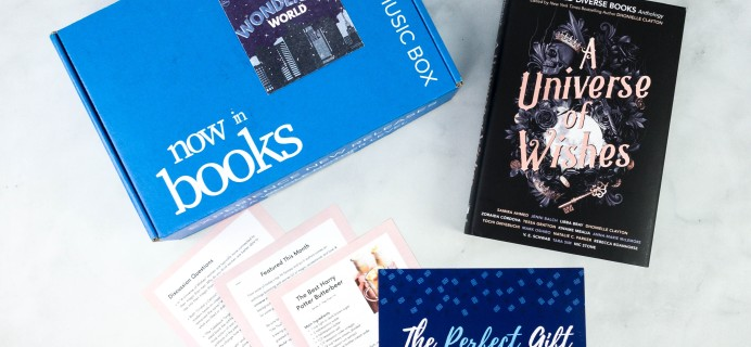 Now in Books Review: December 2020 Books & Music Young Adult